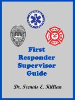 First Responder Supervisor Guide