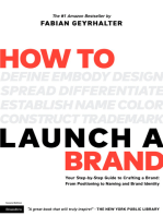How to Launch a Brand (2nd Edition)