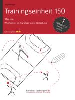 Wurfserien im Handball unter Belastung (TE150)