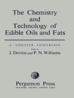 The Chemistry and Technology of Edible Oils and Fats