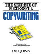 The Secrets of Successful Copywriting