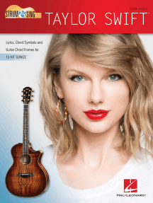 Taylor Swift - Strum & Sing Guitar