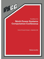 Proceedings of the Ninth Power Systems Computation Conference