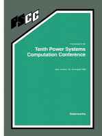 Proceedings of the Tenth Power Systems Computation Conference