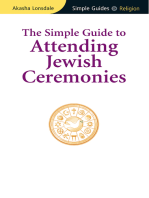 Simple Guide to Attending Jewish Ceremonies