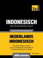 Thematische woordenschat Nederlands-Indonesisch: 5000 woorden