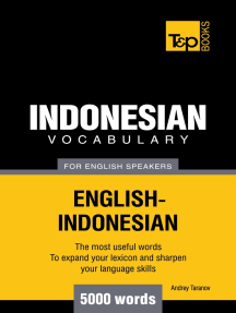 Indonesian vocabulary for English speakers: 5000 words