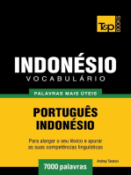 Vocabulário Português-Indonésio: 7000 palavras mais úteis