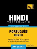 Vocabulário Português-Hindi