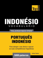 Vocabulário Português-Indonésio: 5000 palavras mais úteis