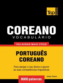 Vocabulário Português-Coreano: 9000 palavras mais úteis
