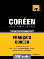 Vocabulaire Français-Coréen pour l'autoformation