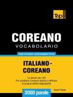Vocabolario Italiano-Coreano per studio autodidattico