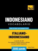 Vocabolario Italiano-Indonesiano per studio autodidattico