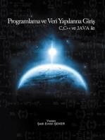 Programlama ve Veri Yapılarına Giriş JAVA, C, C++ dilleri ile