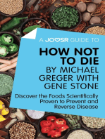 A Joosr Guide to... How Not To Die by Michael Greger with Gene Stone