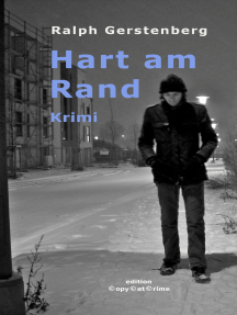 Hart am Rand: Kriminalroman