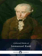 Delphi Collected Works of Immanuel Kant (Illustrated)