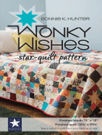 Wonky Wishes Star-Quilt Pattern