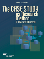 Case Study as Research Method: A Practical Handbook