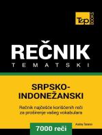 Srpsko-Indonežanski tematski rečnik: 7000 korisnih reči