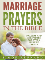 Marriage Prayers in the Bible Prayers and Scriptures for Every Married Couple