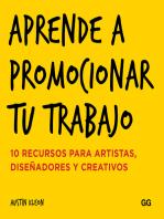 Aprende a promocionar tu trabajo