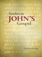 Studies in John's Gospel