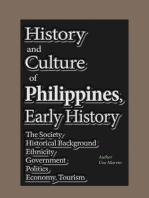 History and Culture of Philippines, Early History