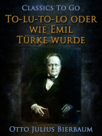 To-lu-to-lo oder Wie Emil Türke wurde