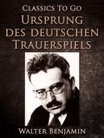 Ursprung des deutschen Trauerspiels