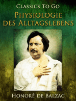 Physiologie des Alltagslebens