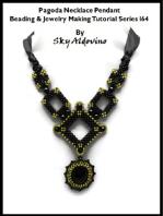 Pagoda Necklace Pendant Beading & Jewelry Making Tutorial Series I64
