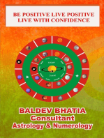 Be Positive Live Positive- Live with Confidence