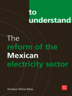 The reform of the Mexican electricity sector