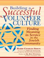 Building a Successful Volunteer Culture