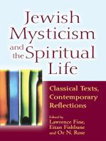 Jewish Mysticism and the Spiritual Life