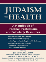 Judaism and Health