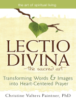 Lectio Divina—The Sacred Art
