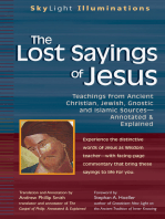 The Lost Sayings of Jesus