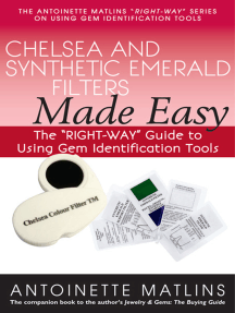 "Chelsea and Synthetic Emerald Testers Made Easy: The ""RIGHT-WAY"" Guide to Using Gem Identification Tools"
