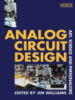 Analog Circuit Design: Art, Science, and Personalities