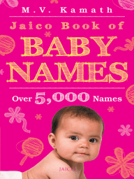 Jaico Book of Baby Names