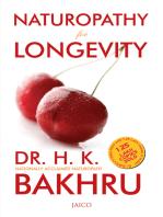 Naturopathy for Longevity