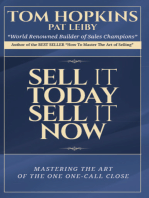 Sell it Today, Sell it Now Audio Seminar