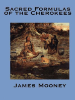 The Sacred Formulas of the Cherokee