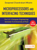 Microprocessors and Interfacing Techniques (Navigator Series)