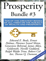 Prosperity Bundle #3: Ten of the greatest books of all times on the subject of wealth and prosperity