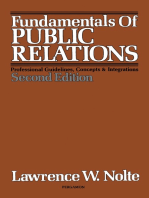 Fundamentals of Public Relations: Professional Guidelines, Concepts and Integrations