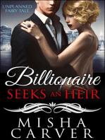Billionaire Seeks An Heir Book 1